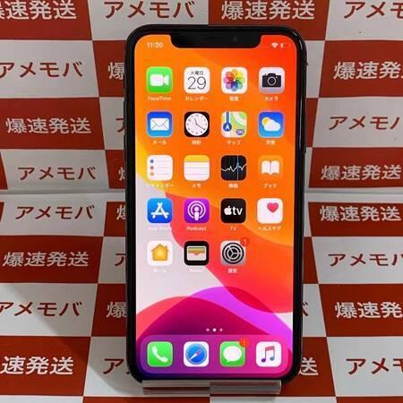 iPhone X 64GB AU版SIMフリー バッテリー86% スペースグレイ-正面