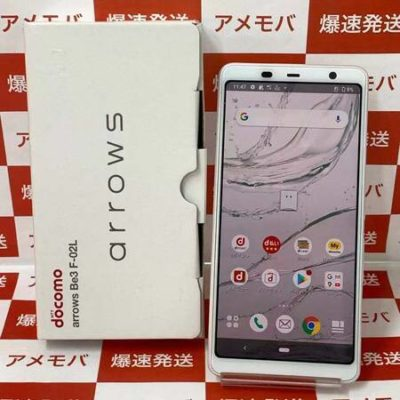 arrows Be3 F-02L 32GB docomo版SIMフリー ホワイト