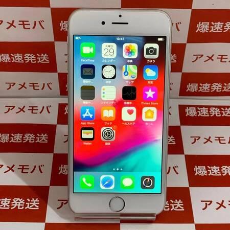 iPhone6 16GB Softbank バッテリー100% 交換品 シルバー-正面