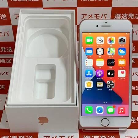 iPhone7 128GB AU版SIMフリー バッテリー100% ローズゴールド-正面