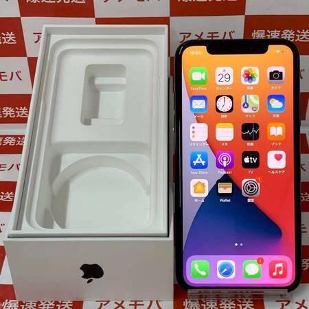 iPhone X 64GB docomo版SIMフリー スペースグレイ バッテリー88%-正面