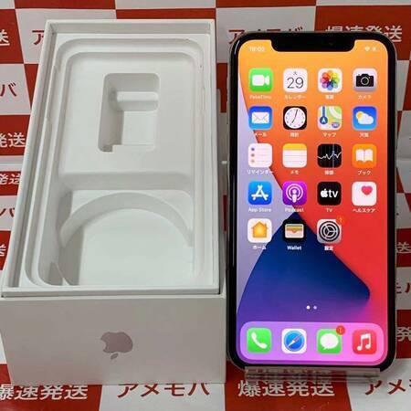 iPhone X 64GB docomo版SIMフリー シルバー バッテリー94%-正面