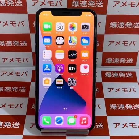iPhone X 256GB AU版SIMフリー バッテリー100% 美品-正面