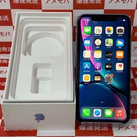 iPhone XR 128GB docomo版SIMフリー ブルー バッテリー91%-正面