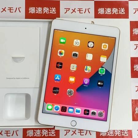 iPad mini 4 128GB docomo版SIMフリー ゴールド バッテリー90%-正面