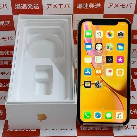iPhone XR 128GB AU版SIMフリー バッテリー94% イエロー-正面