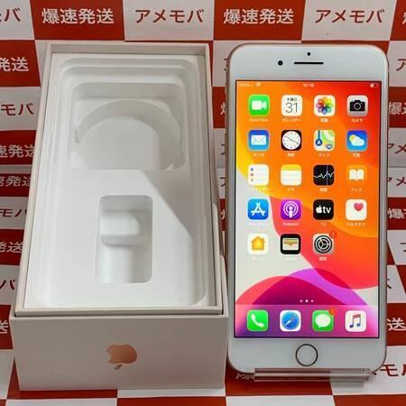 iPhone8 Plus 64GB AU版SIMフリー バッテリー100% 極美品-正面