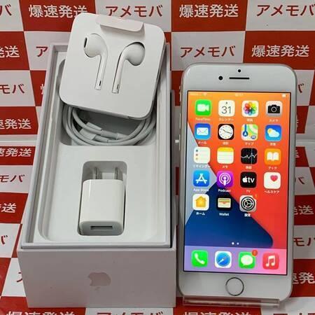 iPhone8 256GB docomo版SIMフリー シルバー バッテリー100%-正面