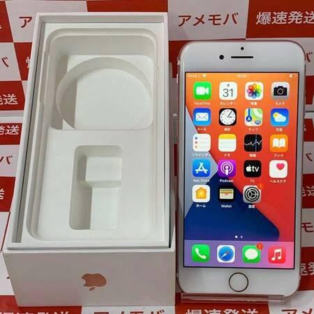iPhone7 32GB AU版SIMフリー ローズゴールド バッテリー85% 美品-正面