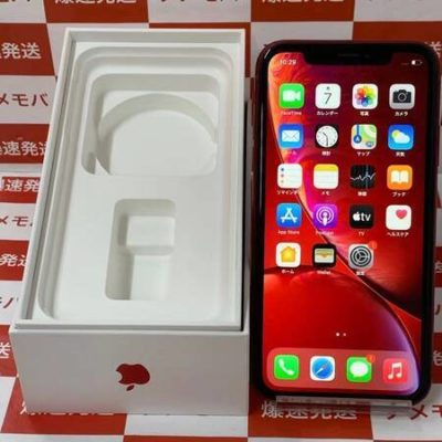 iPhone XR 64GB AU版SIMフリー バッテリー88% レッド