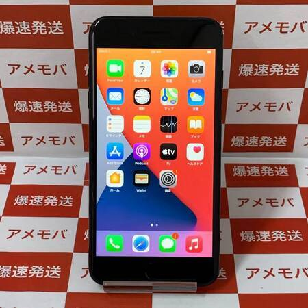 iPhone7 Plus 128GB AU版SIMフリー バッテリー100%-正面