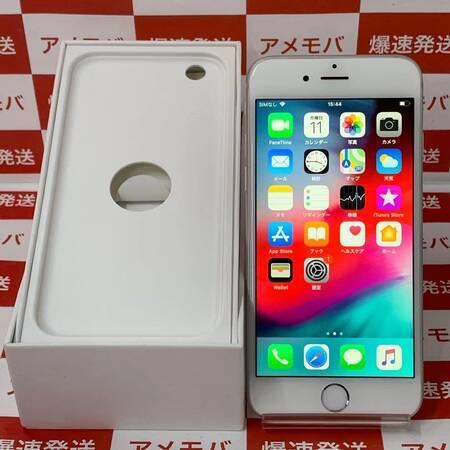 iPhone6 128GB docomo○ バッテリー93% シルバー-正面