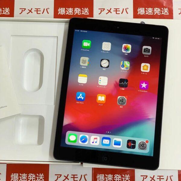 iPad Air 16GB au MD791JA/A A1457 正面