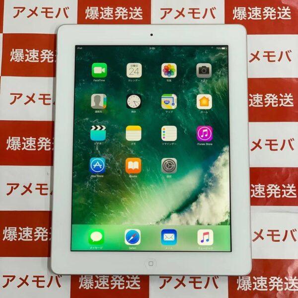 iPad 第4世代 16GB Wi-Fiモデル MD513J/A A1458 正面