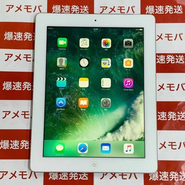 iPad 第4世代 16GB au MD525J/A A1460 正面