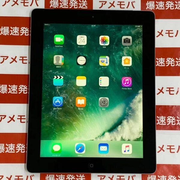 iPad 第4世代 16GB Softbank MD522J/A A1460 正面