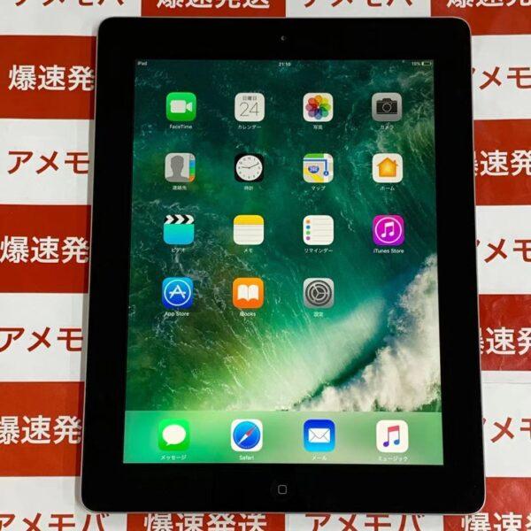 iPad 第4世代 16GB Wi-Fiモデル MD510J/A A1458 正面