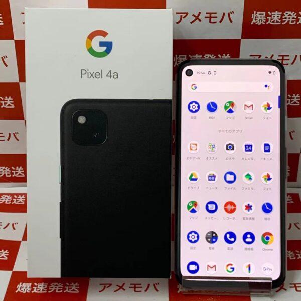 Google Pixel 4a 128GB G025M Softbank版SIMフリー 正面