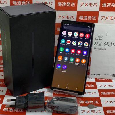 GALAXY Note9 SIMフリー 512GB SM-N960N 韓国版