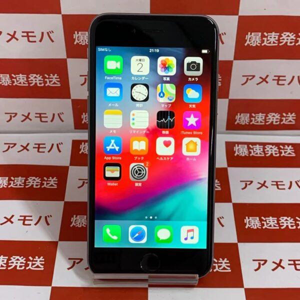 iPhone6 64GB docomo○ MG4F2J/A A1586正面