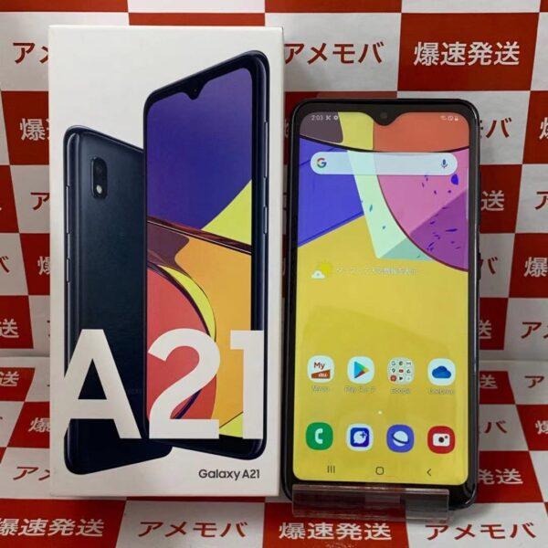 Galaxy A21 SCV49 64GB UQmobile版SIMフリー 正面