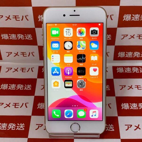 iPhone6s au版SIMフリー 16GB MKQL2J/A A1688-正面