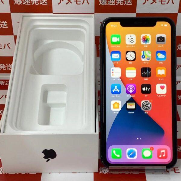 iPhone11 au版SIMフリー 64GB MWLT2J/A A2221-正面
