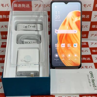 OPPO Reno3 A Y!mobile 128GB SIMロック解除済み A002OP