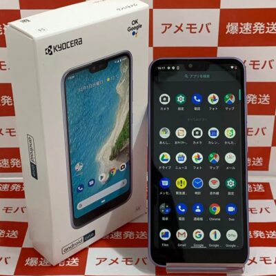 Android One S6 Y!mobile 32GB SIMロック解除済み S6-KC