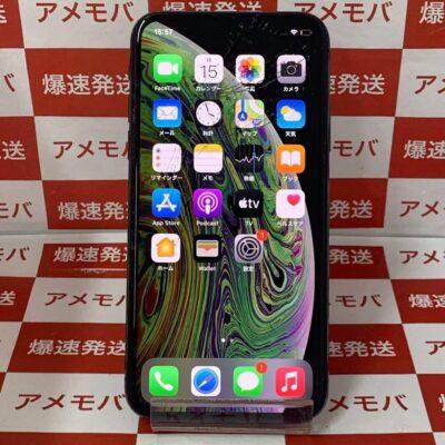iPhoneXS au版SIMフリー 256GB MTE02J/A A2098