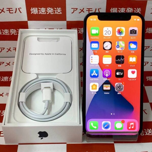 iPhone12 mini au版SIMフリー 64GB MGA03J/A A2398-正面