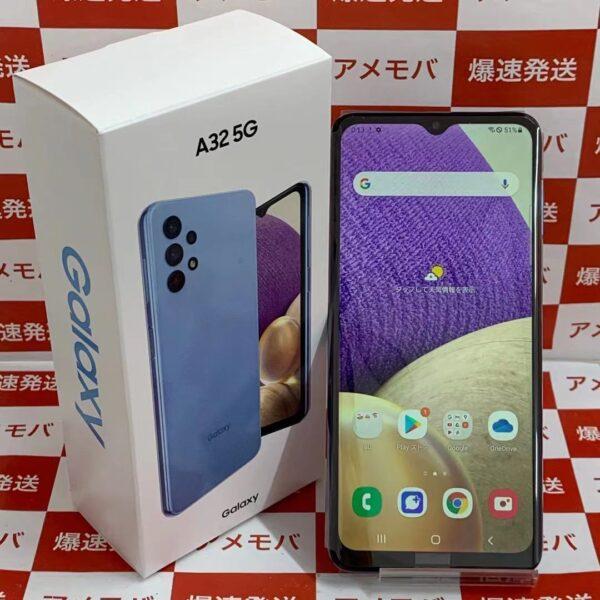 Galaxy A32 5G SCG08 au 64GB SIMロック解除済み-正面