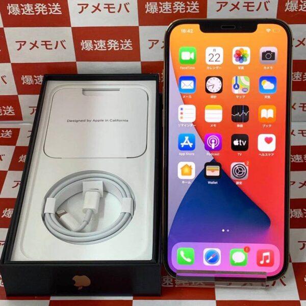iPhone12 Pro Max au版SIMフリー 256GB MGD13J/A A2410正面