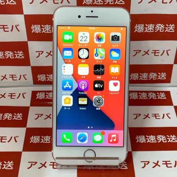 iPhone6s docomo版SIMフリー 64GB NKQR2J/A A1688-正面