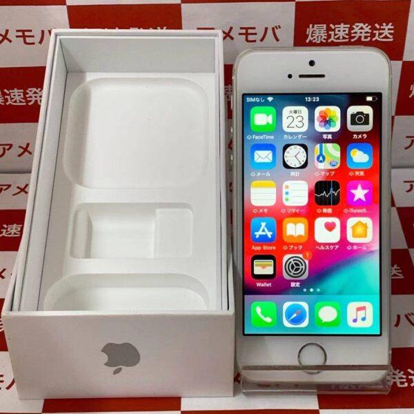 iPhoneSE au版SIMフリー 64GB MLM72J/A A1723-正面