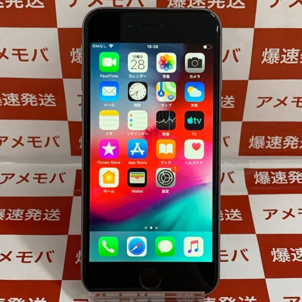 iPhone6 海外版SIMフリー 64GB MG4F2ZP/A A1586-正面