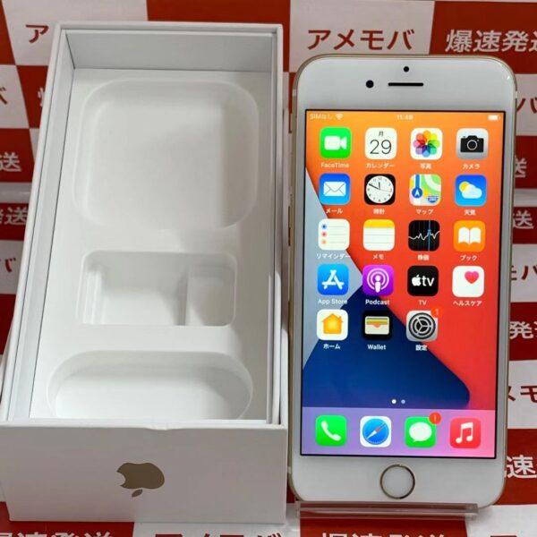 iPhone6s docomo版SIMフリー 64GB NKQQ2J/A A1688-正面