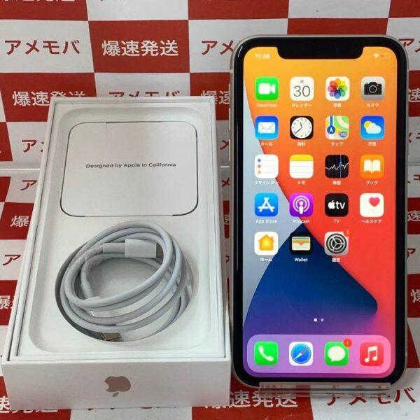 iPhone11 Apple版SIMフリー 128GB MHDJ3J/A A2221-正面