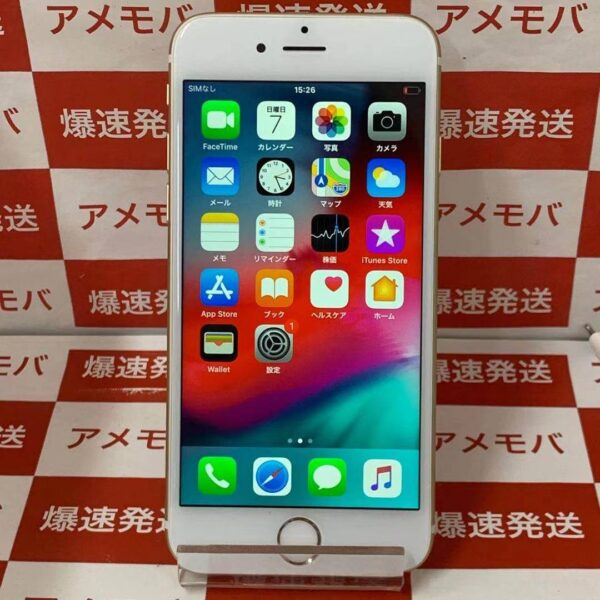 iPhone6 au 64GB MG4J2J/A A1586-正面