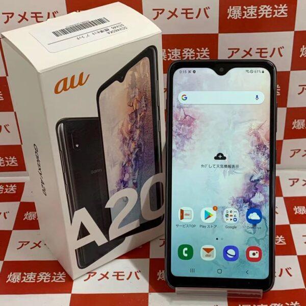 Galaxy A20 SCV46 au 32GB SIMロック解除済み-正面
