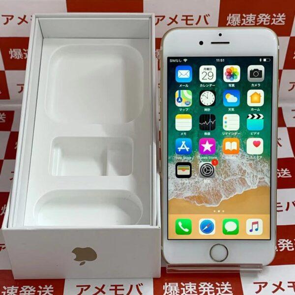 iPhone6s docomo版SIMフリー 64GB MKQQ2J/A A1688-正面