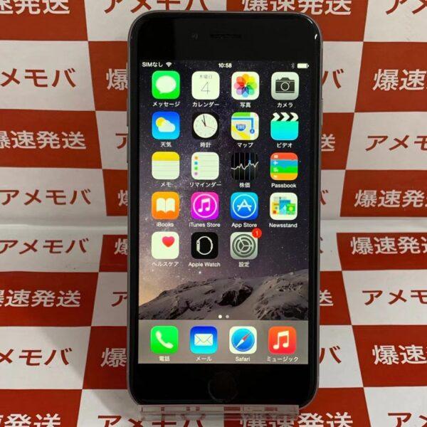 iPhone6 SoftBank 64GB MG4F2J/A A1586-正面