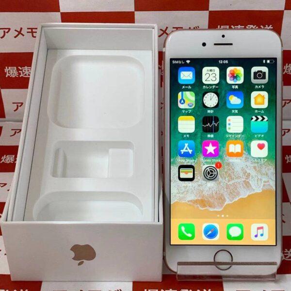 iPhone6s docomo版SIMフリー 64GB MKQR2J/A A1688-正面