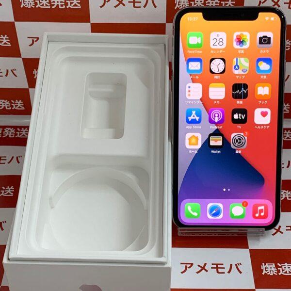 iPhoneX docomo版SIMフリー 64GB MQAY2J/A A1902-正面