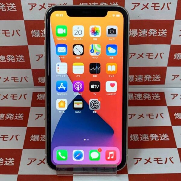 iPhone11 Apple版SIMフリー 128GB MWM22J/A A2221-正面