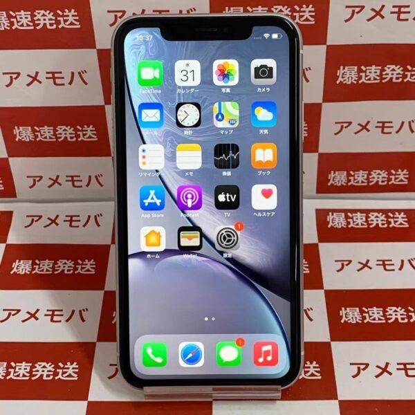 iPhoneXR au版SIMフリー 64GB MT032J/A A2106-正面