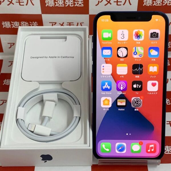 iPhone12 mini au版SIMフリー 256GB MGDV3J/A A2398-正面
