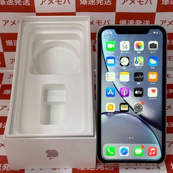 iPhoneXR docomo版SIMフリー 64GB MT032J/A A2106-正面
