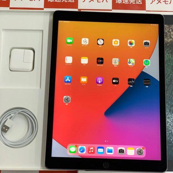 iPad Pro 12.9インチ 第2世代 docomo版SIMフリー 64GB MQED2J/A A1671-正面