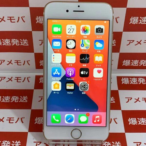 iPhone6s au版SIMフリー 64GB MKQQ2J/A A1688-正面